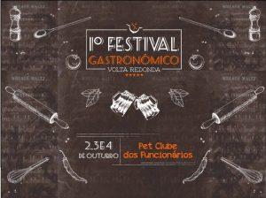 1º Festival Gastronômico de Volta Redonda